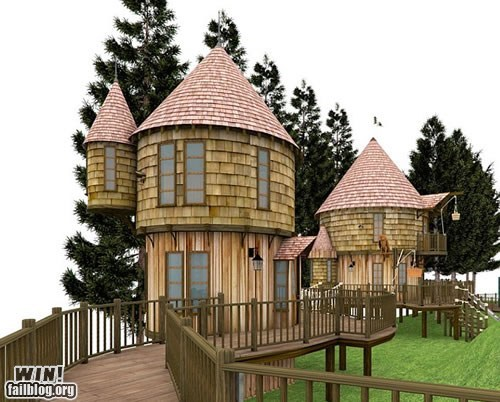 design Harry Potter jk rowling nerdgasm tree house - 6462209792