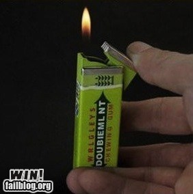 bubblegum design lighter - 6462240512