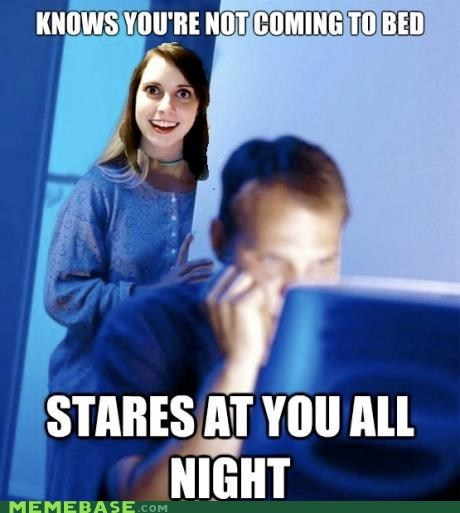 overly attached girlfriend Internet Husband two memes one cup categoryvoting-page - 6462338816