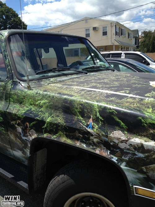car driving paint job waldo wheres waldo - 6462532352