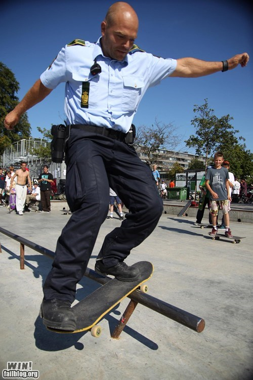 g rated,grinding,police,skateboard,skating,sports,win