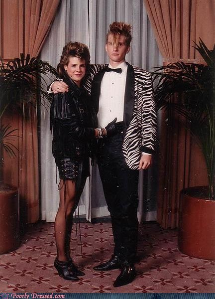 80s fashion flock of seagulls prom