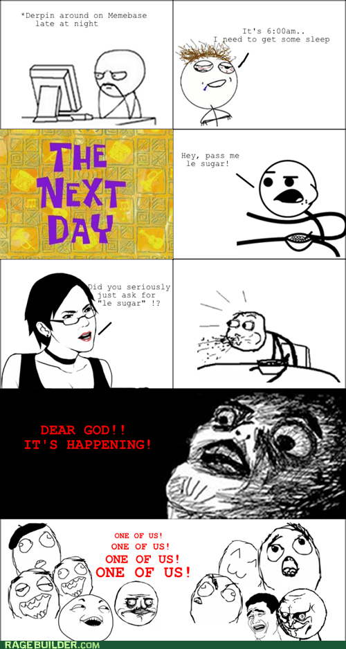 cereal guy,le,one of us,Rage Comics