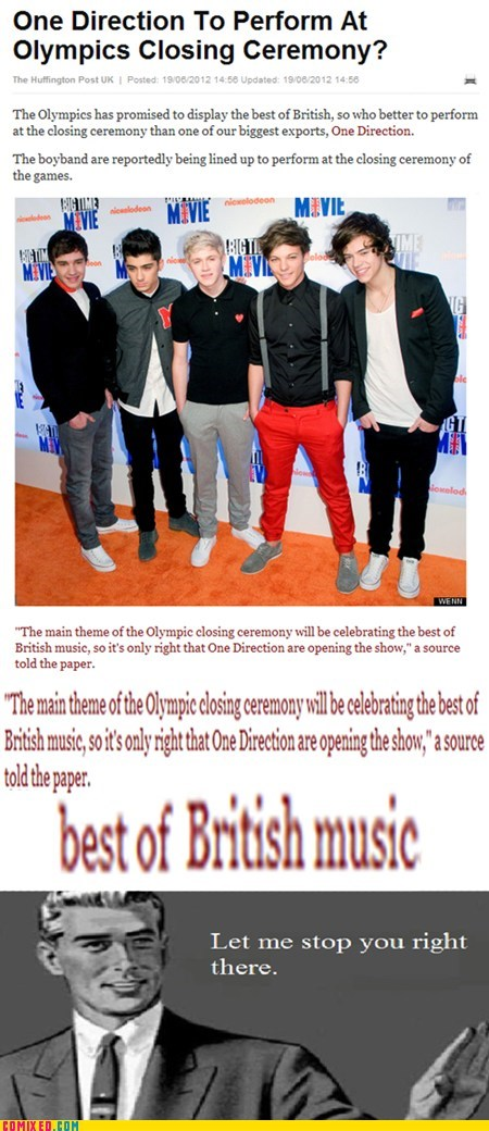 boy bands British London olympics one direction the internets
