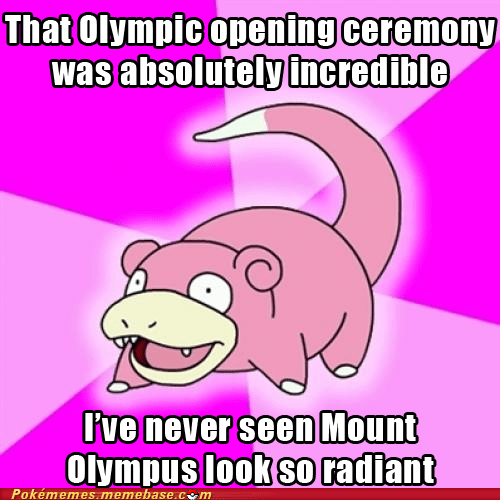 meme Memes mount olympus slowpoke the olympics - 6463624192