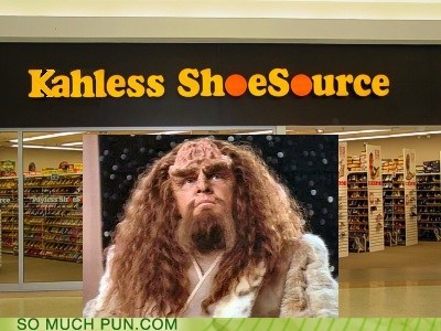 kahless klingon marquis payless Pronunciation similar sounding Star Trek store