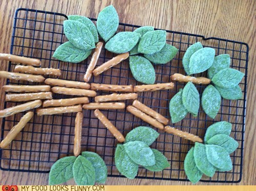 cookies epicute green tea pretzels shortbread tree - 6464177152