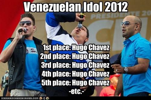 American Idol,Hugo Chávez,political pictures,Venezuela
