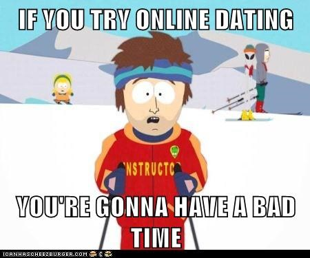 Online dating is bad for you