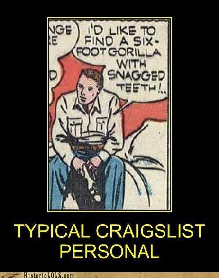 comic craigslist personal ad - 6464904192