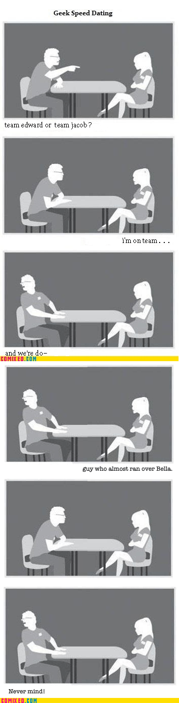 dream girl,geeks,speed dating,twilight
