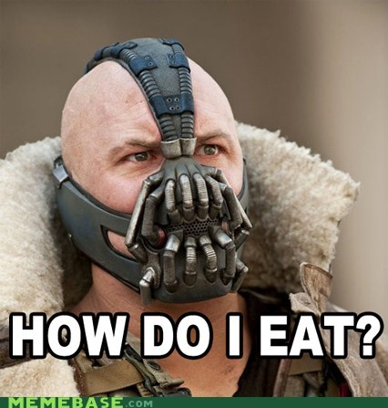 bane eating no idea wtf - 6465105408