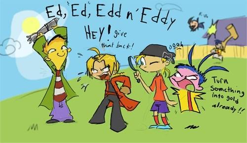 crossover ed edd n eddy Fan Art fullmetal alchemist
