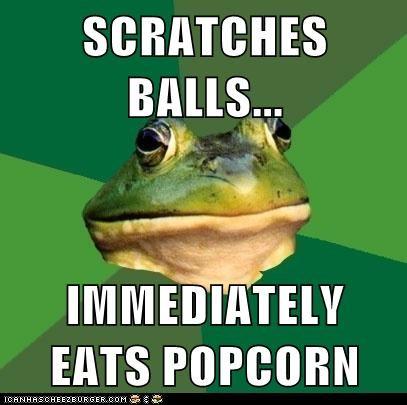 foul bachelor frog - 6465701888