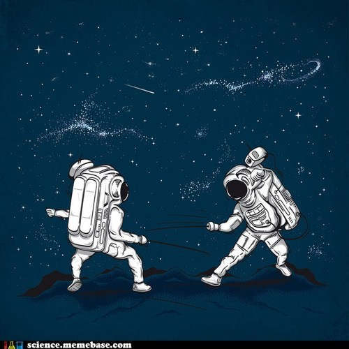 astronaut Fencing olympics science - 6465972224