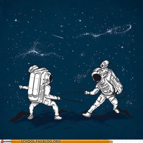 astronomy 205,Fencing,in spaaaaaace
