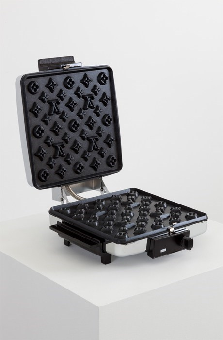 home appliance,Louis Vuitton,so this exists,waffle iron