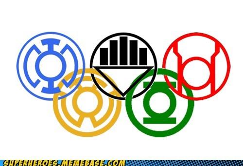 lantern corp olympics Super-Lols - 6466099968