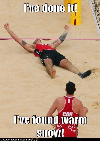 beach volleyball London 2012 olympics sand snow team usa - 6466104320
