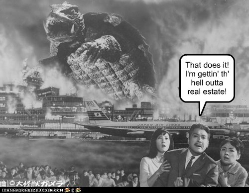 career move Gamera getting out real estate