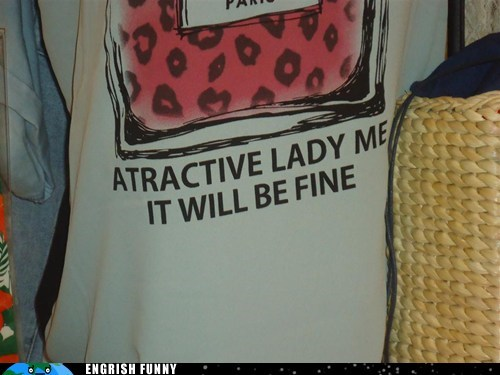 attractive lady,will be fine