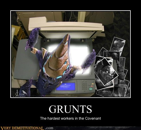 GRUNTS The hardest workers in the Covenant