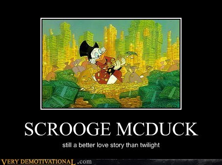 hilarious,love story,scrooge mcduck,twilight