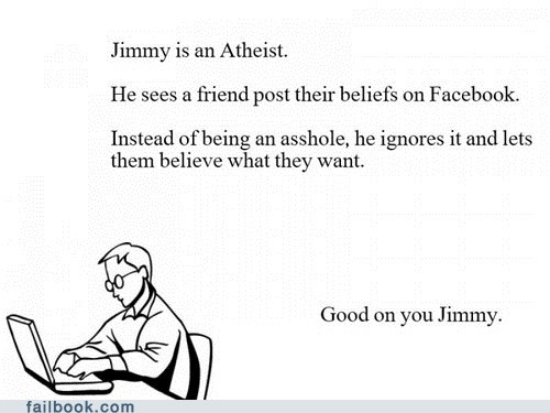 atheism atheist failbook faith religion