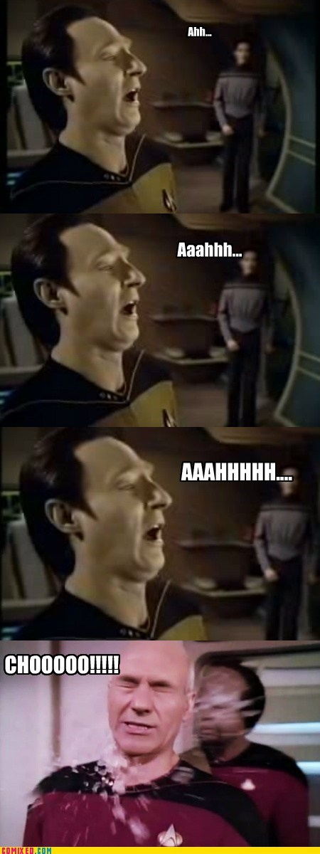 data sneezing Star Trek Star trek the next genera star trek the next generations TV - 6467500032