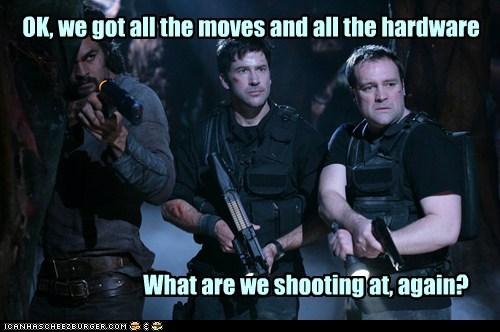 david hewlett hardware Jason Momoa joe flanigan john sheppard moves ratings rodney mckay ronon dex shooting Stargate stargate atlantis - 6467623680