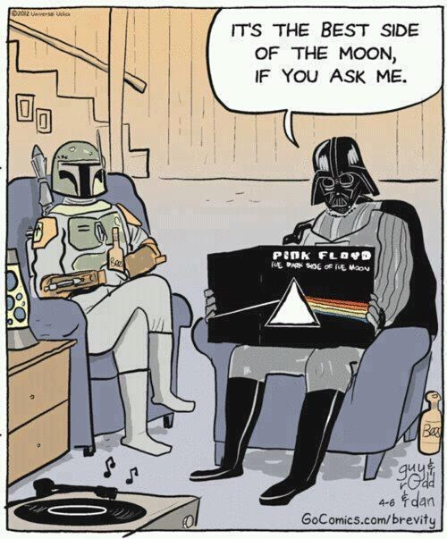Dark Side of the Moon darth vader Fan Art pink floyd - 6467698688