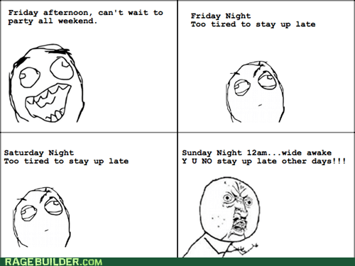 insomnia Rage Comics sleeping Y U No Guy - 6467989248