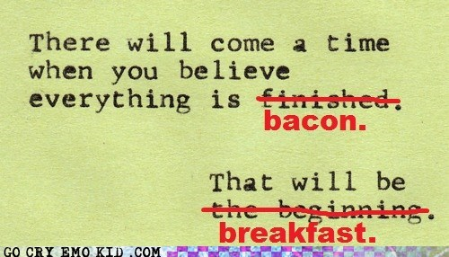 awesome bacon breakfast hipsterlulz - 6468166144