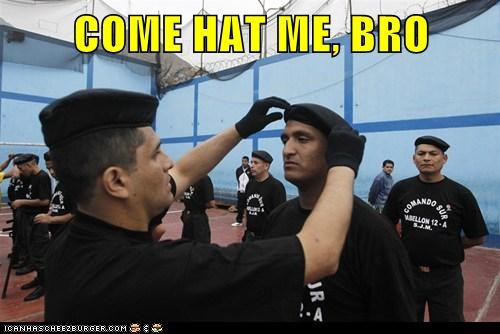 army,come at me bro,hats,Memes,political pictures
