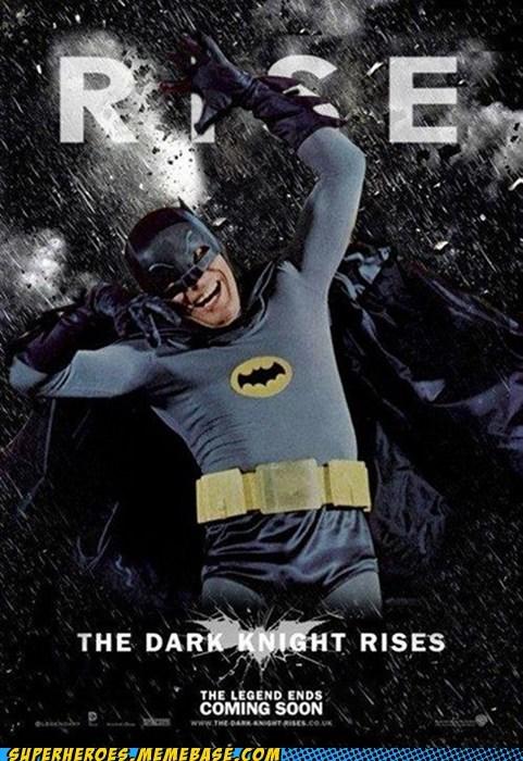 Adam West Awesome Art batman rise - 6468302848
