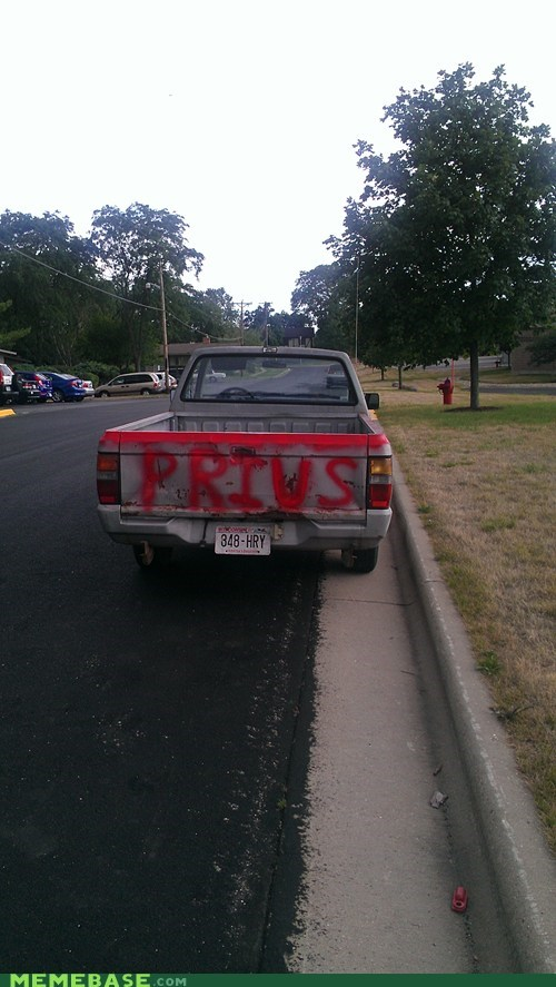 IRL,Nailed It,Prius,truck