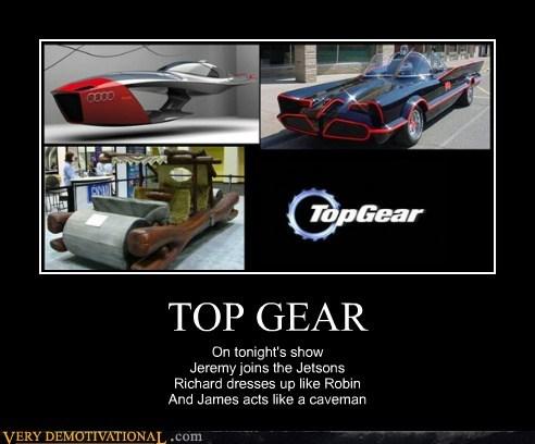 batman,cars,flintstones,jetsons,Pure Awesome,top gear