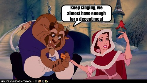 animation,Beauty and the Beast,disney,funny