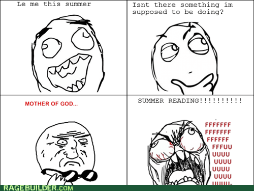 mother of god Rage Comics summer reading truancy story - 6468935936
