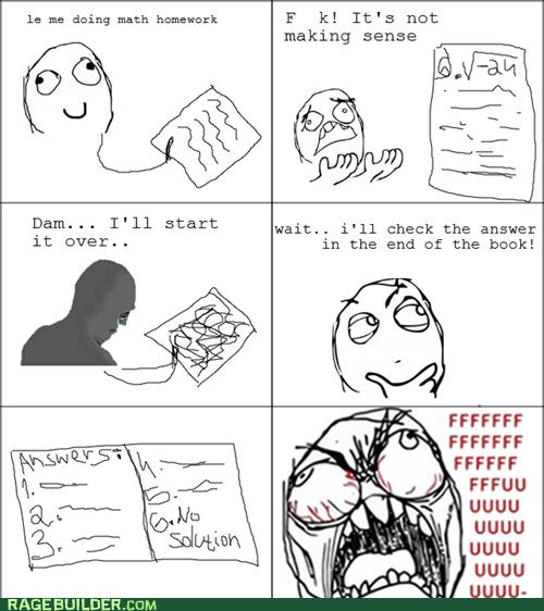 fu guy homework Rage Comics truancy story - 6468984576