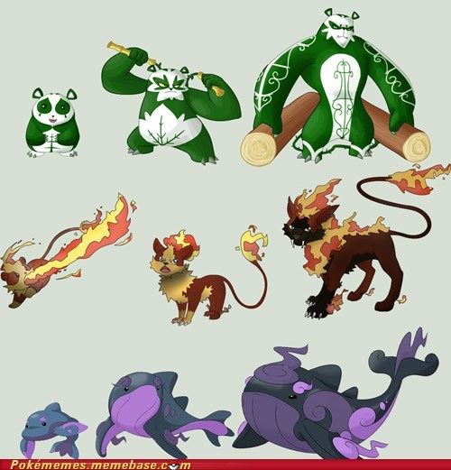 firefighting gen 6 generation six new pokemon not real starters the internets - 6469028352