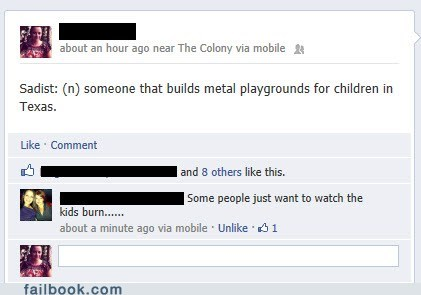 children metal playground