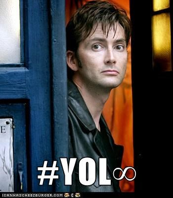 David Tennant doctor who forever the doctor yolo - 6469220096