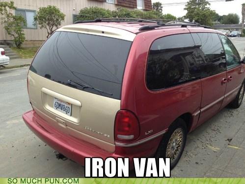 Hall of Fame iron man similar sounding van - 6469304320