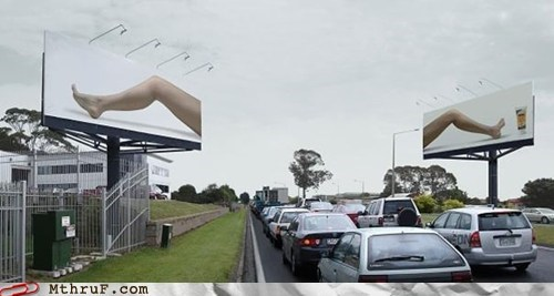 advertisement billboard lube ad
