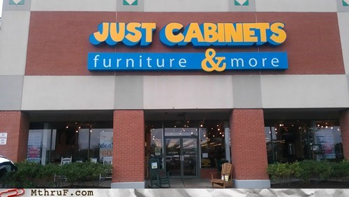 furniture store,just cabinets