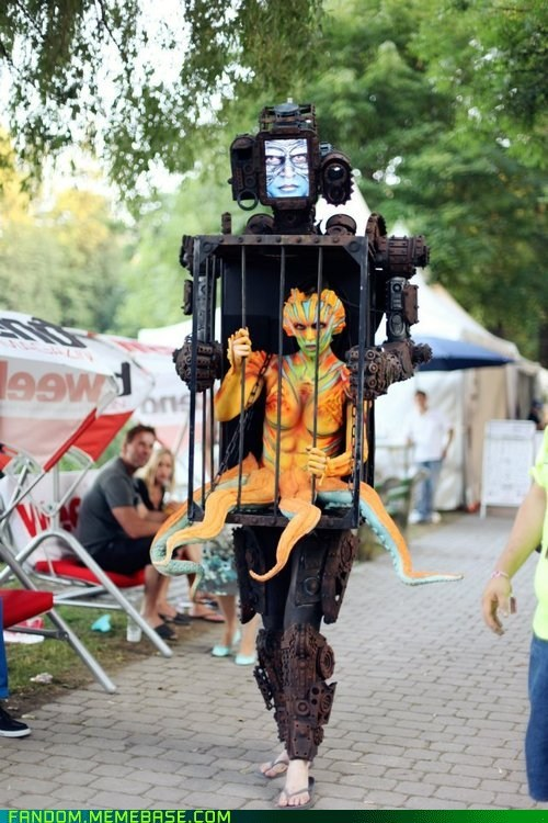 cage cosplay gears sea creature - 6469376256