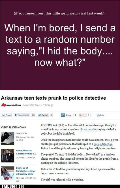 copycat,detectives,news,text prank