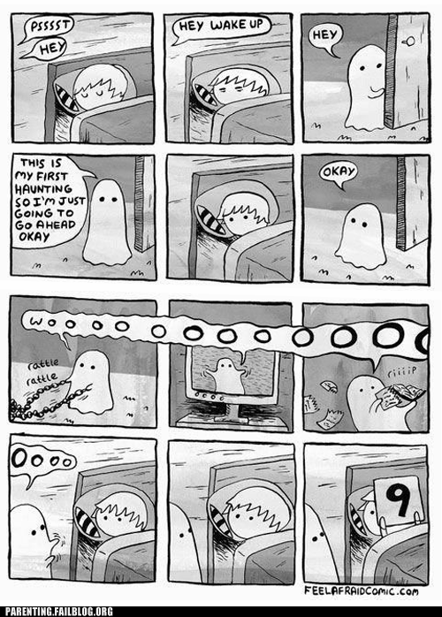 bedtime ghost scary - 6469437696