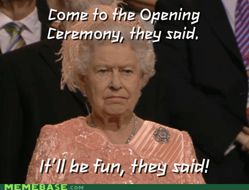 London 2012 Memes olympics the queen - 6469490176